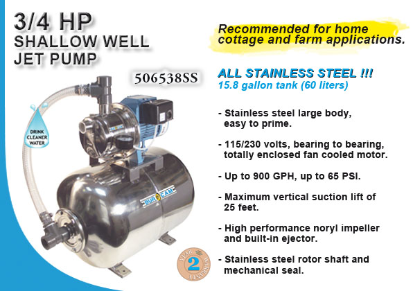 home well pump systems burcam water in pumps and systems sw stainless steel jet pump