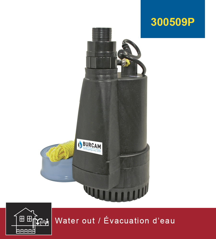 Burcam Water Out Pumps And Systems Submersible Utility
