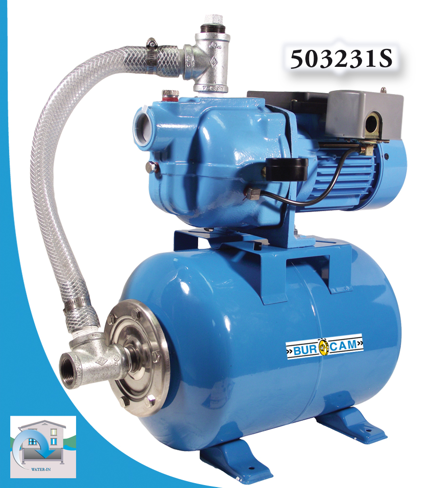 Burcam water in pumps and systems jet
