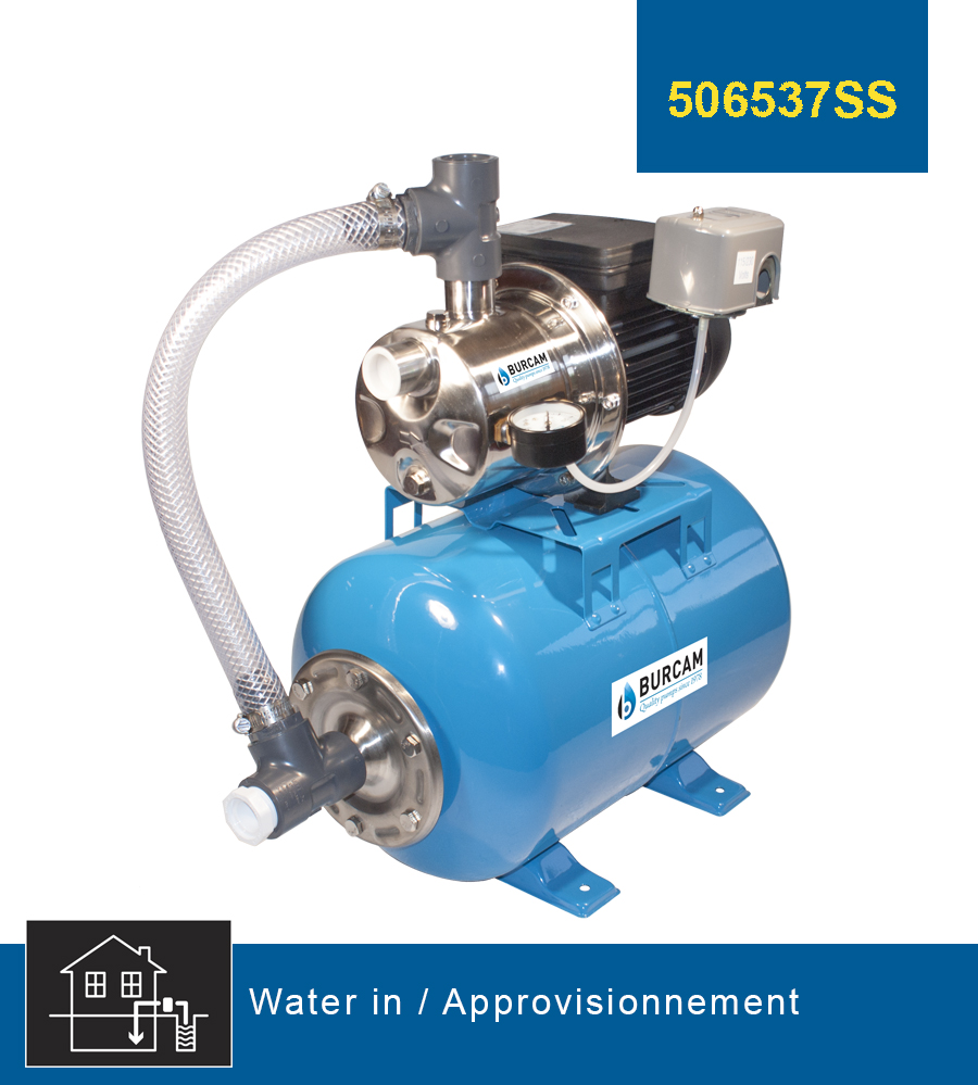 Burcam water in jet pumps
