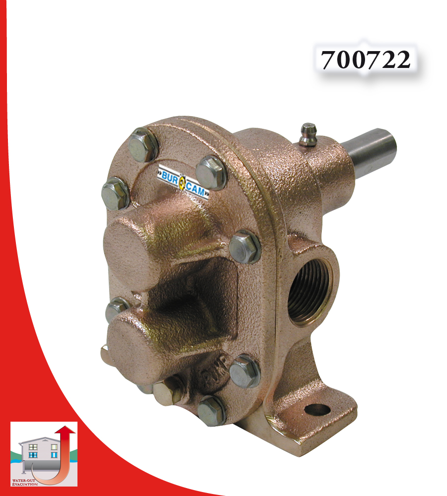 Burcam Water Out Pumps And Systems Brass Gear Pump 1
