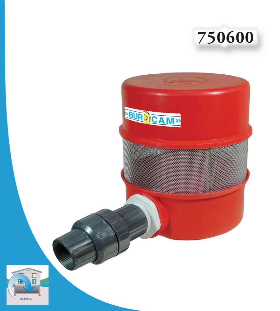 Burcam water in well system accessories lake strainer for Mineral wool pipe insulation weight per foot